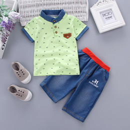 $enCountryForm.capitalKeyWord NZ - good quality Summer Baby Clothes Set Children Clothing For Boys Tops T-shirt+Shorts 2 pcs Sport Suits Kids Tracksuit Toddler Outfits
