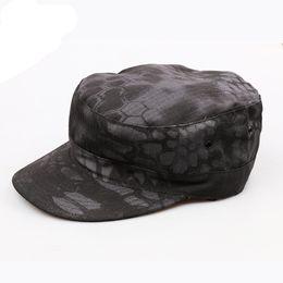 Vente en gros Classique Femmes Hommes Caps vintage Armée Chapeau cadets militaires Cap extérieur Randonnée Chapeaux