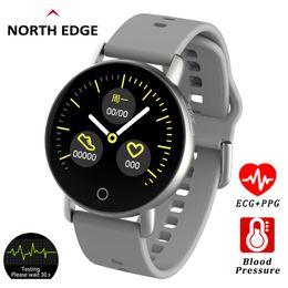 $enCountryForm.capitalKeyWord Australia - North Edge Smart Watch ECG+PPG Heart Rate Sleep Monitor Blood Pressure Fitness Tracker IP67 Waterproof Color Screen Sport Band