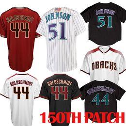 146c81c4 ArizonA diAmondbAcks jersey online shopping - 44 Paul Goldschmidt Arizona  Baseball Jersey Diamondbacks Randy Johnson Jerseys