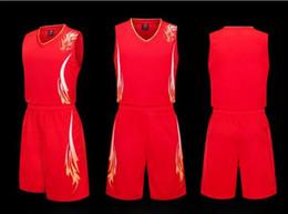 Wholesale Jersey Uniform NZ - Summer basketball uniform custom college students boys and girls jersey DIY large size short sleeve sports vest suit