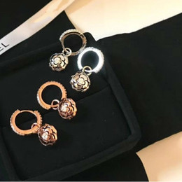 $enCountryForm.capitalKeyWord Australia - Korea natural mother of inlay rose Strobe moonlight as you nail stud earrings elegant ear jewelry