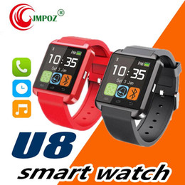 wholesalers u8 smart watches NZ - U8 smart watch smartwatch with SIM Card Slot DZ09 A1 U8 and Health Watchs for Android Phone Smartphones Bluetooth Smart Watch U8 Watch
