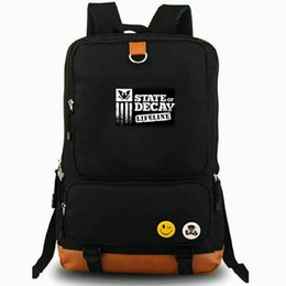 leisure outdoor sports canvas bag UK - Marcus backpack State of Decay daypack Cool game laptop schoolbag Leisure rucksack Sport school bag Outdoor day pack