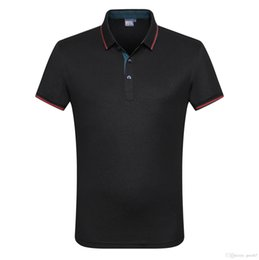$enCountryForm.capitalKeyWord UK - New Designer Polo Shirts for 2019 Summer Tee with Embroidery Brand Letters Casual Clothing Mens Polo Shirt Casual T Shirt for Men Size M-3XL
