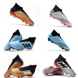 $enCountryForm.capitalKeyWord Australia - Mens High Ankle Youth Football Boots Predator 18+x Pogba FG Accelerator DB Kids Soccer Shoes Predator Purechaos Soccer Cleats for women