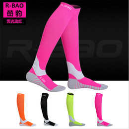 silk r NZ - Running Marathon Socks R-BAO RB7707 Professional Compression Stockings Men Women Outdoor Cycling Sports Socks