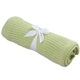 $enCountryForm.capitalKeyWord UK - Infant Baby Hole Blanket Swaddle Wrap Newborn Blankets Muslin Crochet Cotton Air Conditioning Sleeping Blanket Bed Supplies