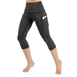 $enCountryForm.capitalKeyWord Australia - Womens Leggings Women Workout Out Pocket Leggings Fitness Sports Running Yoga Athletic Pants Solid Skinny Calf-Length Pants