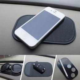 Auto Anti-Slip Armaturenbrett Klebrige Auflage PU Magische rutschfeste Matte GPS Handyhalter Schwarz Nützliche Home Tool LX5157