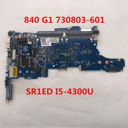 Hp laptop motHerboard test online shopping - For shipping for EliteBook G1 Laptop motherboard A2560201 MB A03 With SR1ED I5 U CPU full Tested