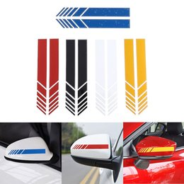 Car Side Mirror Stickers Australia - 2Pcs Lot Car Styling Auto SUV Vinyl Graphic Car Sticker Rearview Mirror Side Decal Stripe DIY Body Decals