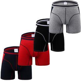 $enCountryForm.capitalKeyWord UK - Mens Sexy Long Boxer Shorts Underwear Leg Soft Briefs Sports Trunks Pants Comfortable Mens Briefs Underwear Shorts Male Panties