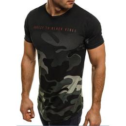 Camouflage T Shirt Men Polyester Australia - Men's T-Shirt 2019 new Design Fashion Summer Short Sleeve Camouflage T Shirt Men Brand Clothes Slim Fit o neck shirts