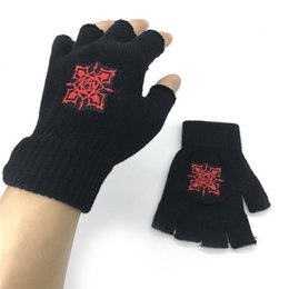 Novelty & Special Use Anime One Piece Monkey D Luffy Half Finger Cotton Knitting Wrist Gloves Mitten Lovers Anime Accessories Cosplay Gloves Fashion Costumes & Accessories