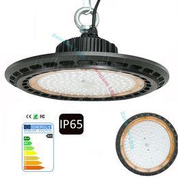 UFO LED High Bay Light 100W 150W 200W 250W LED Luz de inundación IP65 Mining Highbay Lámpara Stree Work Shop Lights en venta