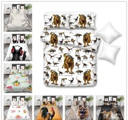 Bedding sets for adult girl online shopping - 3D Print Bedding Set Single Double King Size with pillowcase Home Bedclothes soft for kids girls of Bedding Cover Suit
