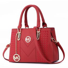 Body Bag sac online shopping - Fashion New Style Women s Bags Pu Leather Messenger Bag Ladies Casual One shoulder Diagonal Embroidery Handbag Sac A Main Y190620