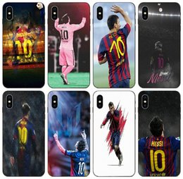 messi case NZ - [TongTrade] Messi Uniform 10 Background Case For Apple iPhone 11 Pro Max X Xs 8s 7s 6s 5 Galaxy Grand I9082 Huawei P30 Motorola Moto G6 Case