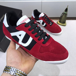 $enCountryForm.capitalKeyWord Australia - Italy famous fashion Lace Up Genuine Leather breathable Trend casual shoes with sneakers trend mens outdoor Mens casual Shoes size 38-45