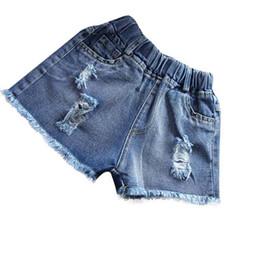 $enCountryForm.capitalKeyWord NZ - Baby shorts jeans Hot design summer cotton Teenage children's shorts kids denim shorts for girls Boys clothes girl clothing C32