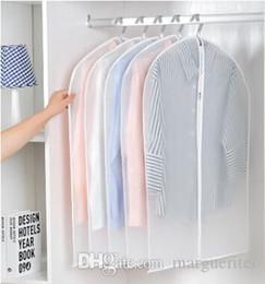 Clothes hanging bags online shopping - Transparent Wardrobe Storage Bag Clothing Dustproof Bag Jacket Coat Dress Dustproof Cover Clear Garment Hanger Bags