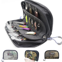 4cm fishing online shopping - Fishing bag Waterproof Portable Nylon Sequins Fishing Lure Baits Hooks Tackle Storage Bag Case Organizer Container CM