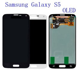 samsung galaxy s5 touch screen digitizer Australia - 100% Test original LCD Display For Samsung Galaxy S5 G900 SM-G900F I9600 Touch Screen Assembly Digitizer Replacement Parts