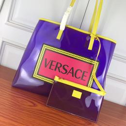Lüks çanta Kadın Çanta Tasarımcısı Şeker Renk Jöle Çanta Çanta Katı Renk Çanta Kadınlar Için Temizle Şeffaf PVC Crossbody indirimde