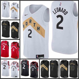 41ef5aaca 2018-19 Toronto Men Raptors Jersey #7 Kyle Lowry 10 DeMar DeRozan 2 Kawhi  Leonard City Edition Jerseys Free shipping