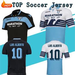 7160403cc TOP 2018 19 SS Lazio Soccer Jerseys Immobile Parolo J.Correa Futbol  Camisetas Football Camisa Shirt Maillot