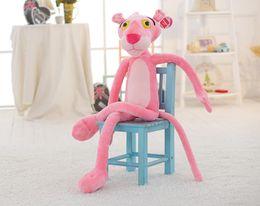 $enCountryForm.capitalKeyWord Australia - 28# Fashion Aojieer brand dolls playful pink leopard doll pink leopard plush toy dolls boys and girls holiday ceremony 80 cm
