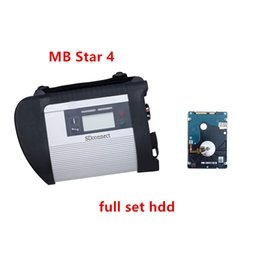 Function Connectors Australia - MB STAR C4 MB SD Connect Compact 4 Diagnostic Tool with WIFI Function V2019.03 multi-language 320 HDD for mb cars and truck