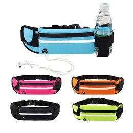 running waist pouch UK - Universal 6.5'' Waterproof Sport Waist Bag Belt Pouch Running Universal Mobile Phone Pocket Unisex Case Arm band For Samsung S10