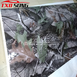 $enCountryForm.capitalKeyWord Australia - 10 20 30 40 50 60x152CM Realtree Camouflage Car Vinyl Wrap Sticker Real Tree Leaf Digital printing Tree Camo car vinyl sticker