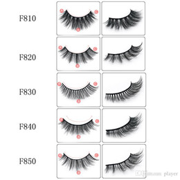 lash extension designs Australia - NEW 3D Mink Eyelash Hair 5 Pair False Eyela shes Extension Eyelash Hair Full Strip Eye Lashes by Aritificial Mink 5 Designs 3001361