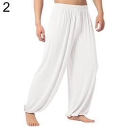 Wholesale baggy yoga pants for sale – dress Unisex men s pants Casual Sport Jogger Baggy Trouser Jumpsuit Harem Yoga Pants Bottom Slacks Drop Shipping