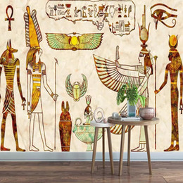 1ebc49ef639 Tvs sound bars online shopping - 3d European style pharaoh large murals  Vintage Egyptian lounge bar