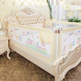Venta al por mayor de Conjuntos de ropa de cama de bebé Cerca imbaby Rieles de seguridad Bebés Niños Cercas de cama Cuna Rail Security Parachoques para recién nacidos Infantes Niños Guardiatura