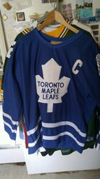 $enCountryForm.capitalKeyWord Australia - Cheap custom NWT DOUG GILMOUR Toronto Maple Leafs CCM Vintage Throwback Hockey Jersey 48 Mens Personalized stitching hockey jerseys XS-5XL