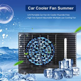 $enCountryForm.capitalKeyWord Australia - 12V Portable Car Fan Air Cooler Fluoride-Free High-low Speed Adjustable Multiple-use Cooling Fan Portable For Office Home