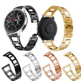 Golds Gear Australia - for Samsung Gear S3 Frontier Classic Watch Band Stainless Steel Metal Straps 22mm Strap for Samsung Galaxy Watch 46mm Bracelet