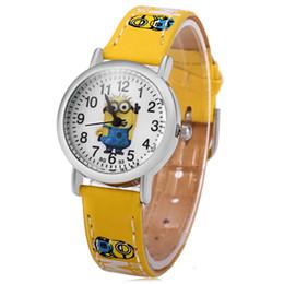 $enCountryForm.capitalKeyWord UK - Cartoon 3D Yellow man with big eyes quartz Wristwatches children watch waterproof kids watches birthday gift