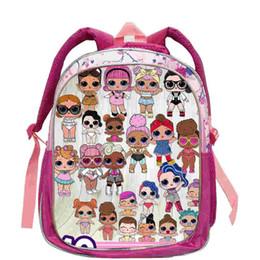 Chinese  Surprise Girls Backpack PinkFong Cartoon School Bag Cute Baby Girl Backpacks Travel Storage Shoulder book Bags Infantil Snack Bag sale A378 manufacturers