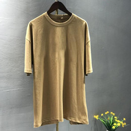 Wholesale oversize tshirt for sale - Group buy Trendy Cotton Mens T Shirt Oversize Casual Street Fashion Loose High Quality Male T shirt Sport Short Sleeve Cotton TShirt
