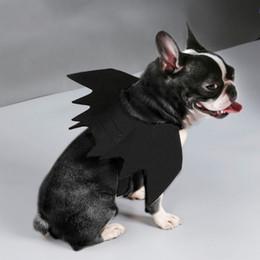 $enCountryForm.capitalKeyWord Australia - New Pet Cat Dogs Halloween Cosplay Funny Costume For Dog Cats Puppies Kittens Black Bat Wings