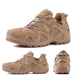 $enCountryForm.capitalKeyWord Australia - Black Man Hiking Camping Shoes Outdoor Desert Tactical Boots for Men High Ankle Trekking Mountain Climbing Boots