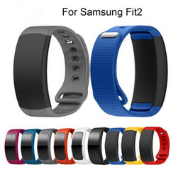Wholesale Smart Watches Australia - Replacement Bands for Samsung Fit 2 Smart Watch Elastomer Strap Silicone Wristband for Samsung Gear Fit 2 SM-R360 Fitness