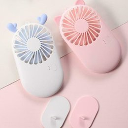 $enCountryForm.capitalKeyWord Australia - New Style Mini portable Small USB Fan With battery small fans Deer Cat Type Adjustable Flexible Office Desk Gadget USB Mini Fans