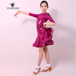 $enCountryForm.capitalKeyWord Australia - Latin dance costumes for children Performing clothes exercise suit